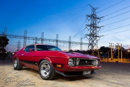 '73 Ford Mustang Mach 1 1j4c3946