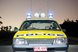 VK Holden Commodore Police Car nv0a8953